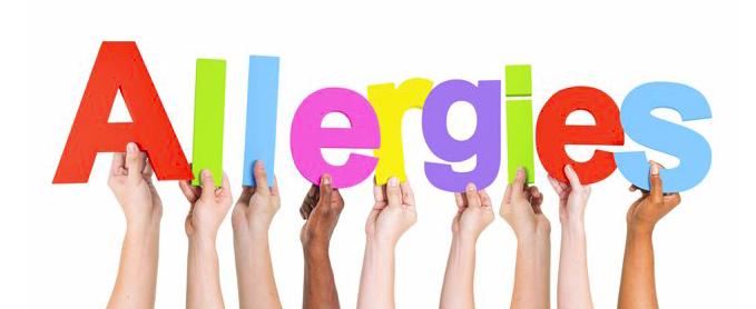 NOUVEAU : accompagnement allergies et intolérances